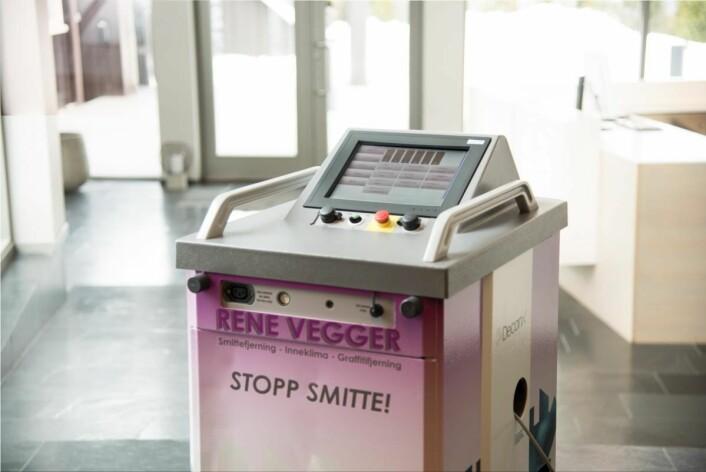 Høyteknologisk utstyr sikrer optimalt resultat. (Foto: Peder Klingwall/Vizpro
