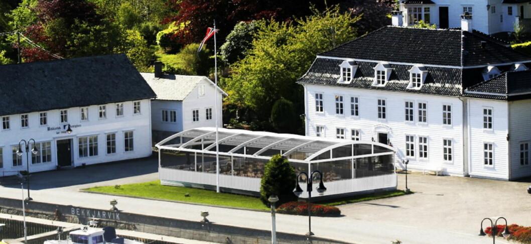 Bekkjarvik Gjestgiveri, med Bocuse d'Or-vinner Ørjan Johannessen i spissen, er listet både som restaurant og som overnattingssted i Guide Michelin Nordic Countries 2017. (Foto: Bekkjarvik Gjestgiveri)