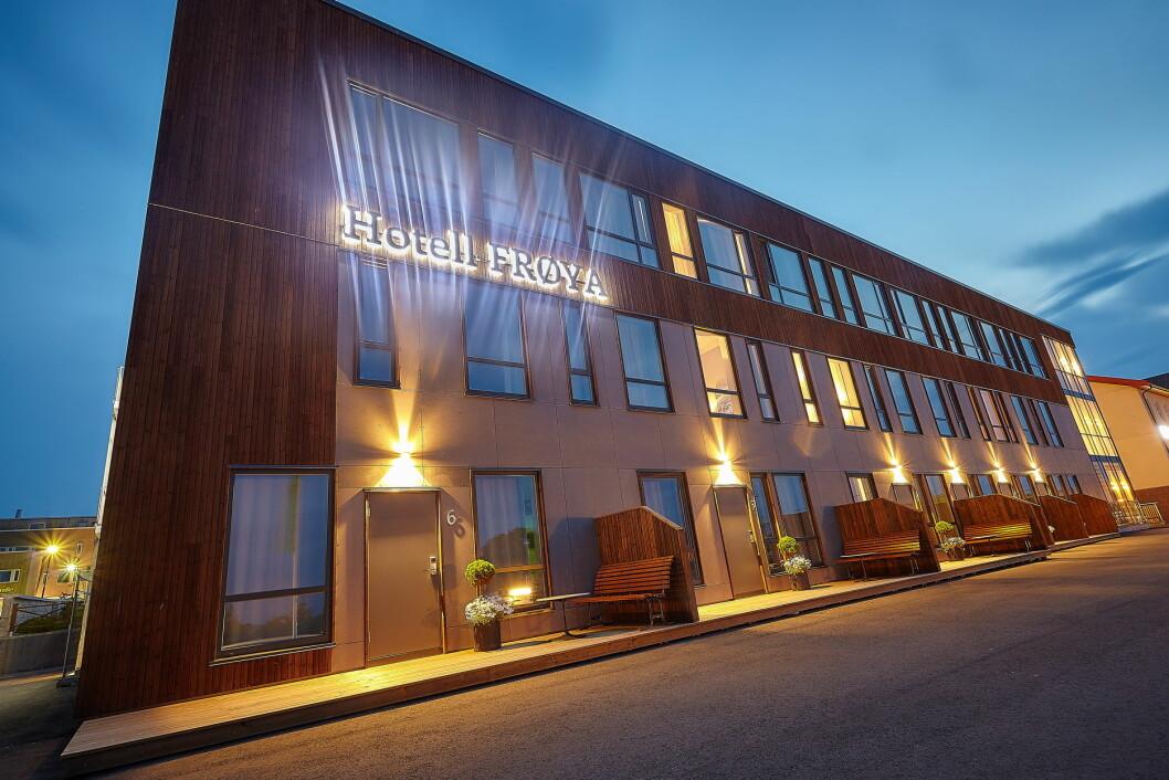 Hotell Frøya. (Foto: Yoof)