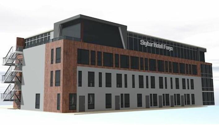 Skisse av den kommende utsiktsbaren på Hotell Frøya. (illustrasjon: Hotell Frøya)