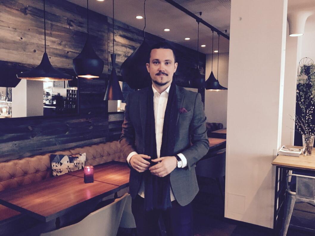 Espen Hammersvik er ny direktør på Clarion Hotel Bergen Airport.