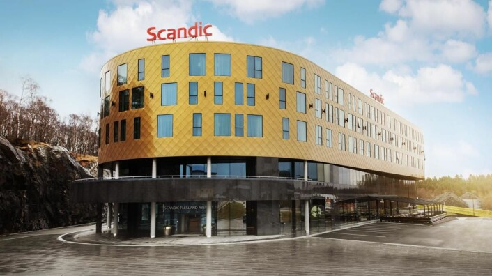 Scandic Flesland Airport åpnet i dag, mandag 3. april.