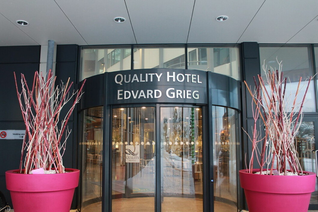Quality Hotel Edvard Grieg. (Foto: Hotellet)