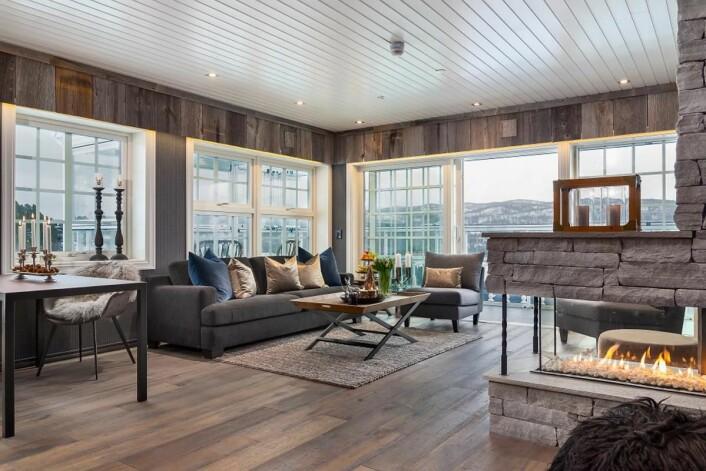 Leilighetene tilknyttet Dr. Holms Hotel er fra 70 til 163 kvadratmeter. Innen tre år er det planer om å bygge flere fritidsleiligheter<em>.</em>