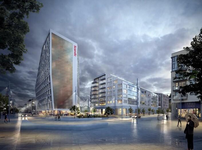 Scandic Lillestrøm åpner i januar 2018.