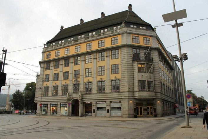 Hotellet Amerikalinjen åpnes i 2018. (Foto: Nordic Choice Hotels)
