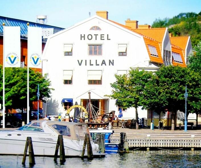 Hotel Villan i Göteborg.
