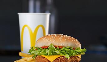 McDonald's med vegetarburger