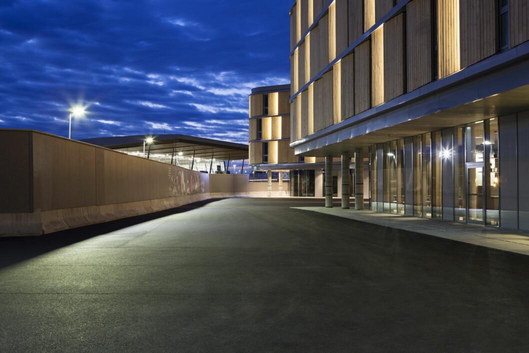 Comfort Hotel Bergen Airport er offisielt åpnet. (Foto: Inger Marie Grini)
