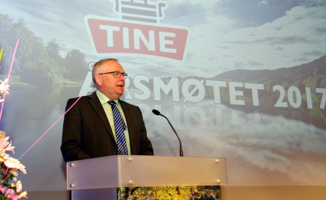 Trond Reierstad (59) går nå inn i sin åttende periode som styreleder.