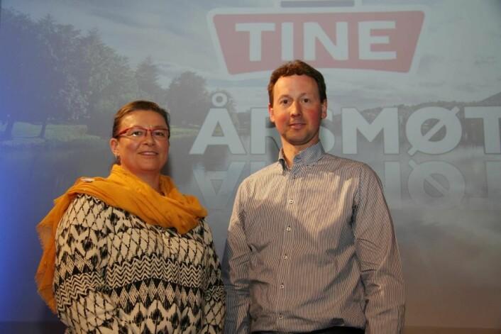 Elisabeth Irgens Hokstad og Helge Arne Espeland er nyvalgte medlemmer i Tines konsernstyre.