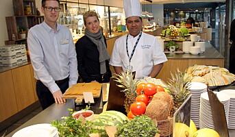 Mindre klimautslipp i kantiner og personalrestauranter