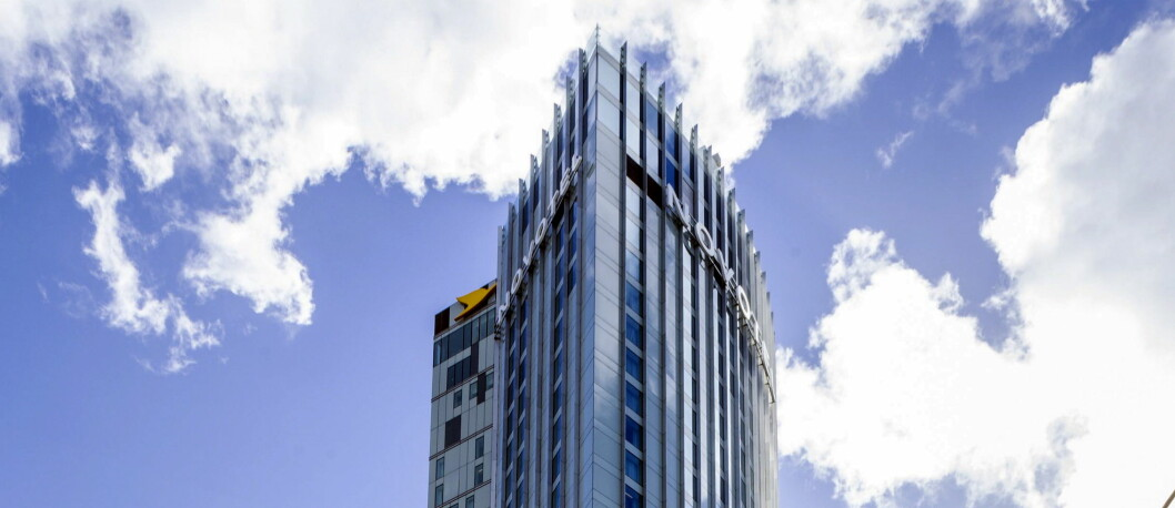På takterrassen på 39. etasje i det nye London-hotellet finner du en egen grønnsakshage.