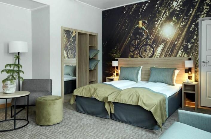 Scandic Lillehammer Hotel byr på 303 nyoppussede rom.