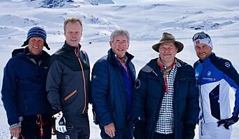 Arne Brimi og «Gutta på tur» med Petter Northug