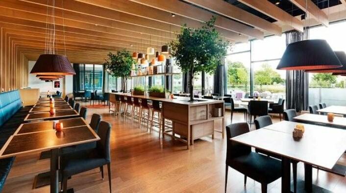 Brasserie X på Quality Expo på Fornebu er ett av stedene du kan få rabatt. (Foto: Nordic Choice Hotels)