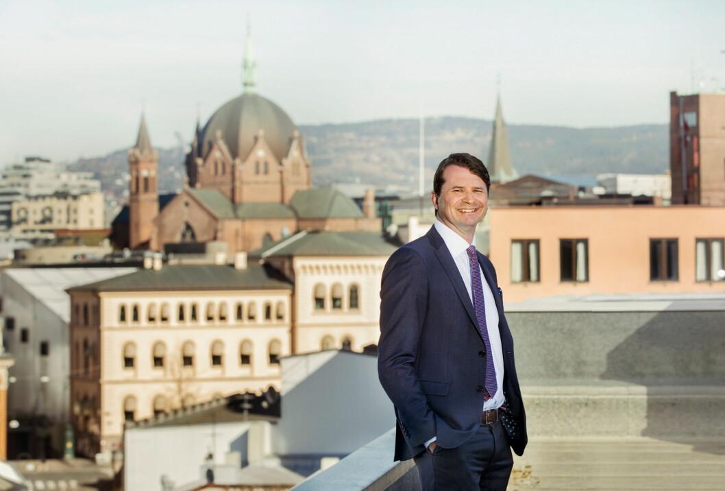 Ole-Christian Hallerud har blitt visekonsernsjef i Olav Thon Gruppen. (Foto: Gry Traaen)