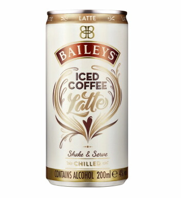 Baileys Iced Coffee Latte.