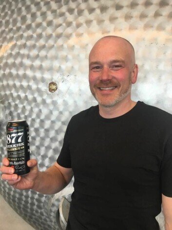 Bryggerimester hos Mack, Rune Andreassen.