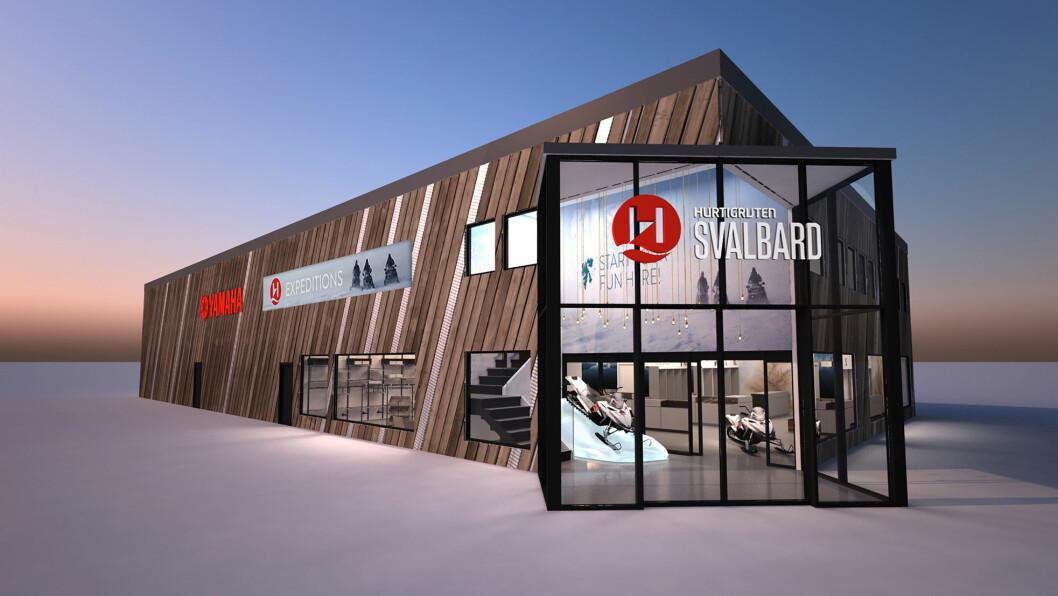 Dette er de første bildene av Hurtigrutens storsatsing på Svalbard. (Alle foto: Hurtigruten Svalbard)