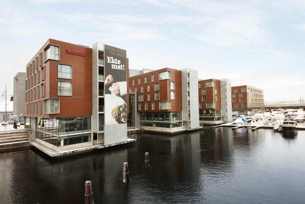 Scandic Nidelven skal utvides. (Foto: Scandic Hotels)