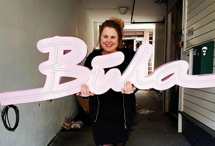 Reneé Fagerhøi åpner Bula NeonBistro i slutten av mai. (Foto: Morten Holt)