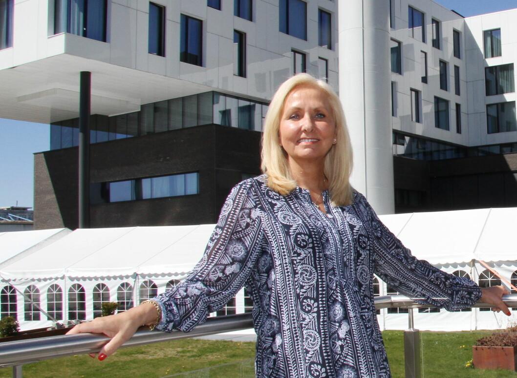 Toril Flåskjer er nå hotelldirektør på Scandic Fornebu. (Foto: Morten Holt)