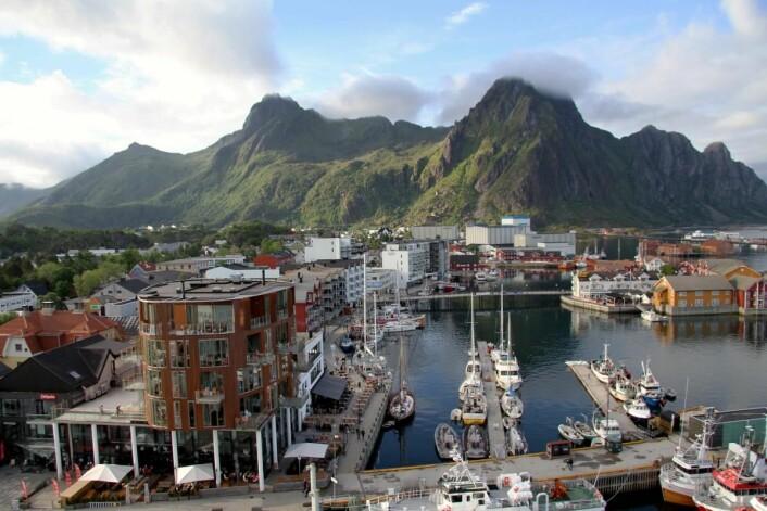 Norges anses som et grønt reisemål. Her fra Svolvær. (Foto: Morten Holt)