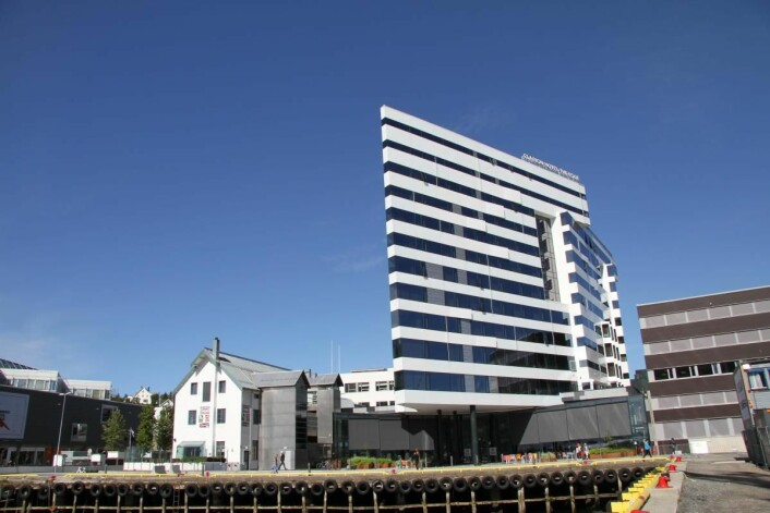 Dette er verdens beste Clarion-hotell. (Foto: Morten Holt)