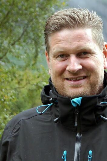 Sigmund Vika er ny salgs- og markedssjef på Holmsbu.