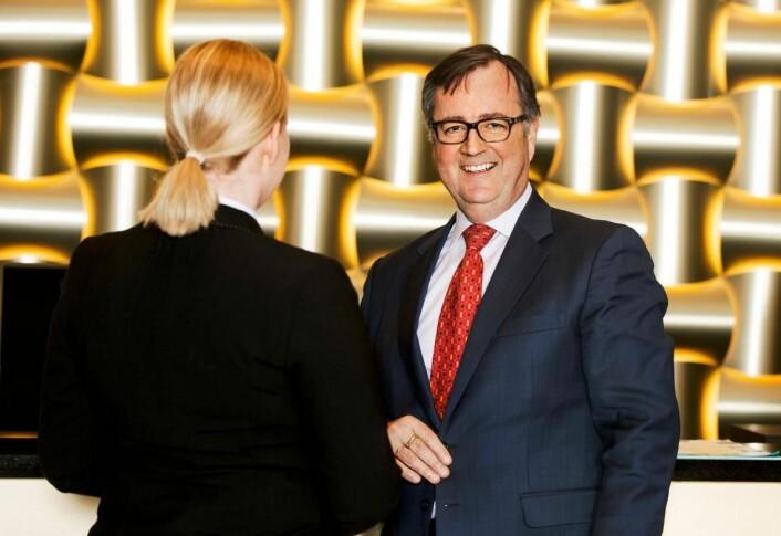 – At Thon Hotels scorer høyt på kundetilfredshet og lojalitet, er noe vi er svært stolte av, sier konserndirektør for Thon Hotels, Morten Thorvaldsen. (Foto: Gry Traaen)