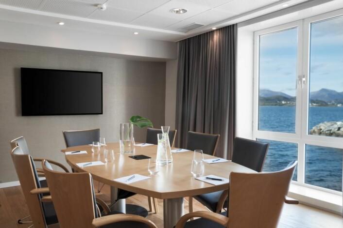 Møterom på Radisson Blu Hotel Ålesund.