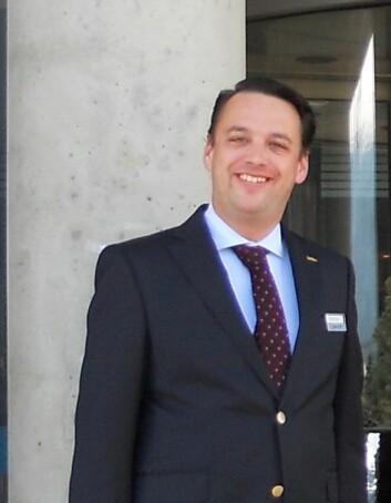 Aart Niemans kommer fra den internasjonale kjeden Marriott-Starwood og har vært hotellsjef i Brussel i flere år.