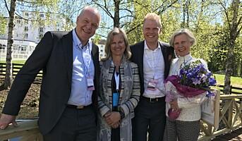 Christin Fredrik Sandberg er Årets unge leder