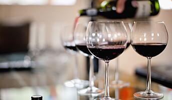 Nedgang i Europa, men vinkonsumet vil øke
