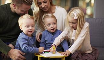 Søker barnefamilie med «mastergrad i kaos»