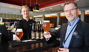 Gardermoen-hotell lanserer sitt eget øl