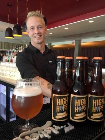 – Vi har laget et øl som passer alle anledninger, sier Thomas Floden.