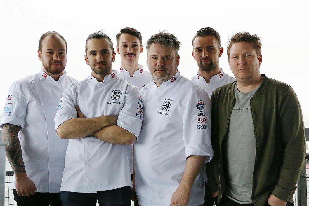 Deltakerne i Årets kokk har nå valgt ut sine coacher og commiser. (Foto: Linda Wiken)