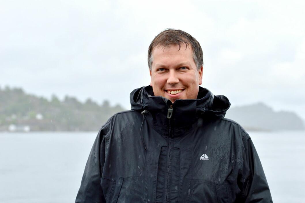 Øyvind Solstad fra Andenes har nærmest vokst opp med Hurtigruten. Nå skal han lede selskapets globale satsing på sosiale medier. (Foto: Hurtigruten)