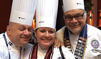 Hartviksen ble nordisk kokkepresident