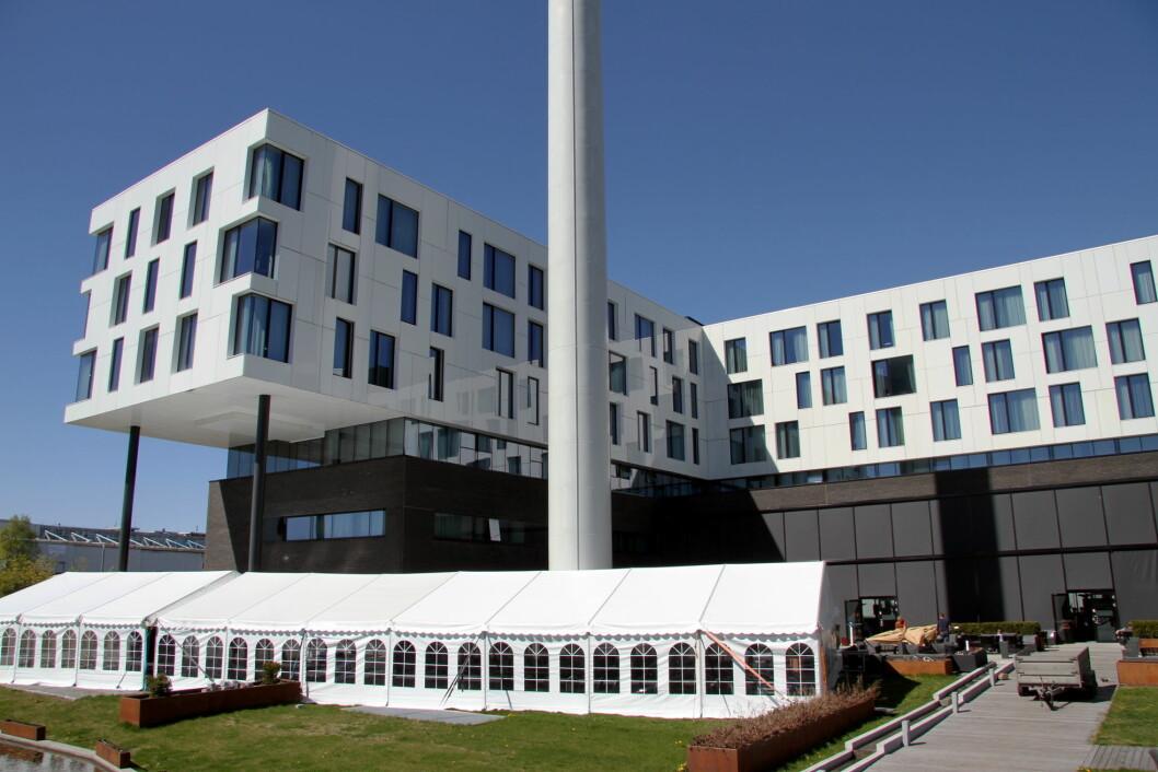 Scandic Fornebu. (Foto: Morten Holt)