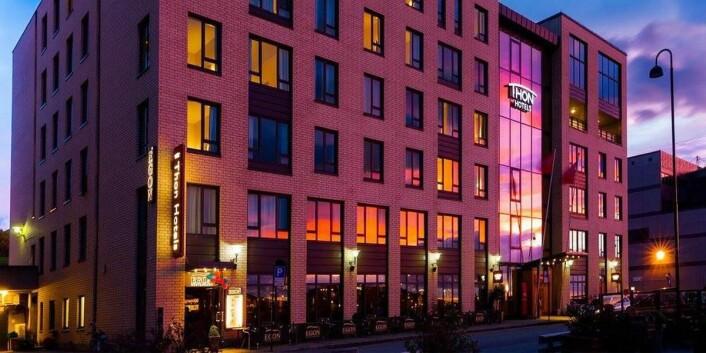 Thon Hotel Nordlys i Bodø serverer byens beste frokost, ifølge juryen i Twinings Best Breakfast, og hotellet er videre i årets kåring som «wild card». (Foto: Thon Hotels)