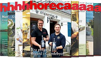 Årets fjerde Horeca-magasin på vei