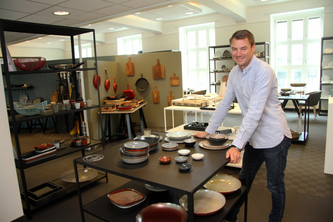Ole Henrik Eftedal, gründer og eier i 2080.no, som denne uka har åpnet en ny Concept Store på Skøyen i Oslo. (Foto: Morten Holt)