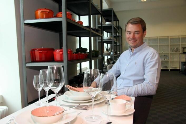 En drøm har gått i oppfyllelse med åpningen av Concept Store, sier Ole Henrik Eftedal. (Foto: Morten Holt)