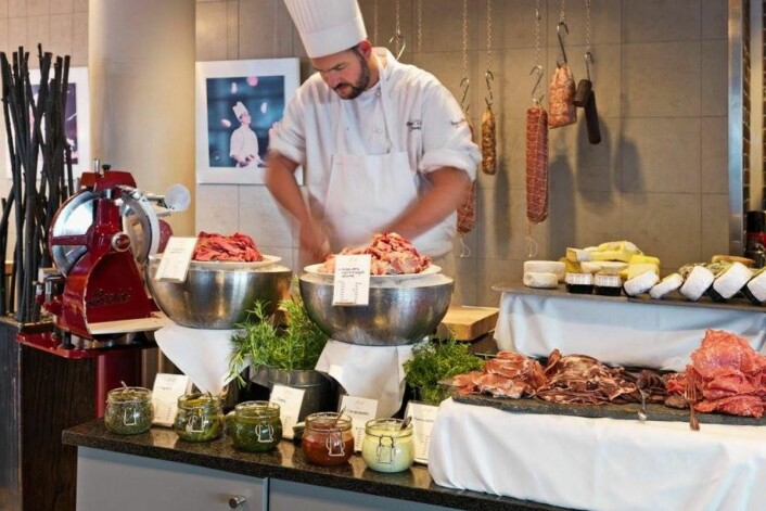 Frokosten er Scandic Nidelven holder stand. (Foto: Scandic Hotels)