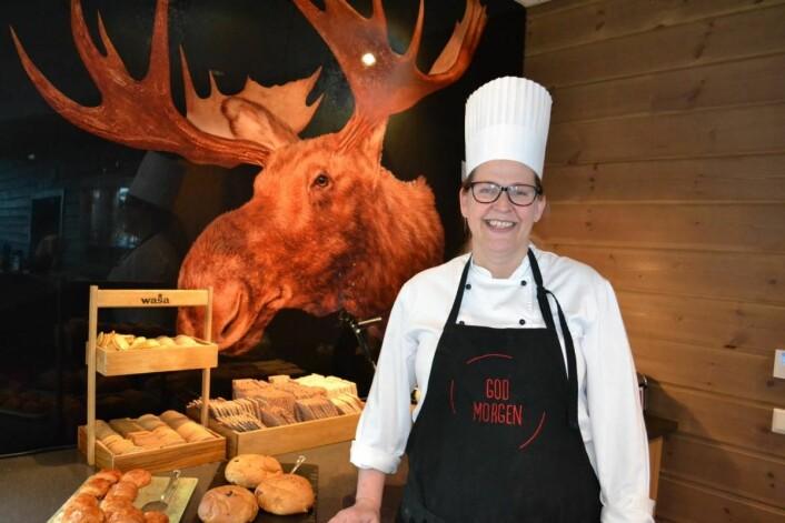Lillian Nordli er frokostkokk på Scandic Elgstua. (Foto: Scandic Elgstua)