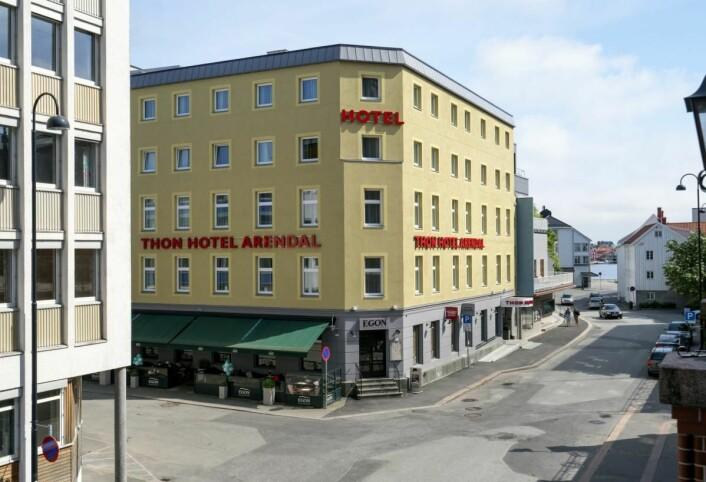Thon Hotel Arendal er fylkesvinner i Aust-Agder. (Foto: Thon Hotels)