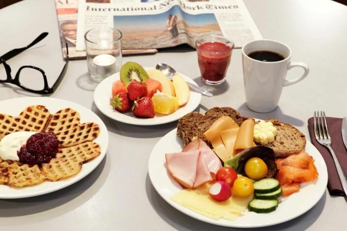 Scandic dominerer frokostkåringen. Her fra Scandic Oslo Airport Hotel. (Foto: Scandic Hotels)